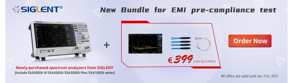 Spectrum Analyzer EMI Test KIT Bundle