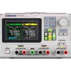 "SPD3303X-E  Τροφοδοτικό 3 Καναλιών 220W Προγραμματιζόμενο με Οθόνη 4.3"" TFT με ανάλυση 10mV/10mA"