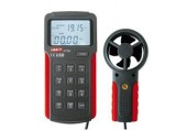 UT362 Digital Anemometer Speed , Flow , Temperature